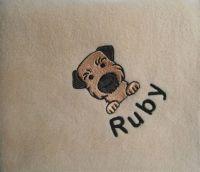 Border Terrier Blanket
