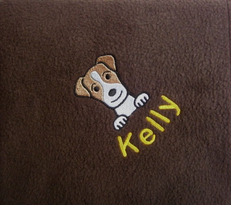 Jack Russell Fleece Blanket