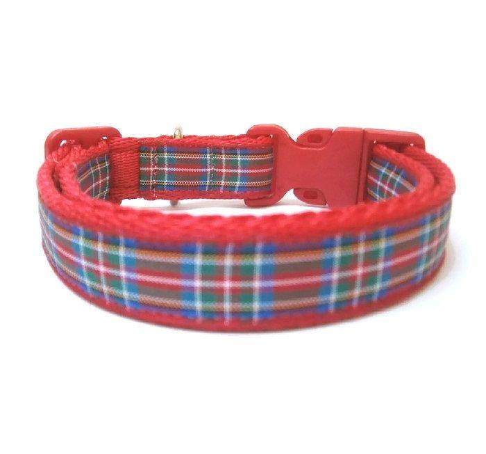 Royal Stewart Tartan Collar - Red
