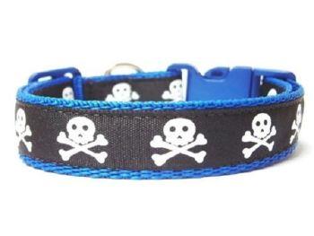 Skull Collar - Dark Blue