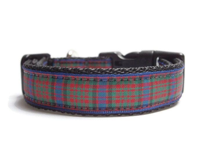 MacDonald Tartan Collar - Black