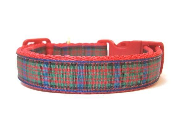 MacDonald Tartan Collar - Red