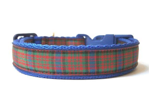 MacDonald Tartan Collar - Dark Blue