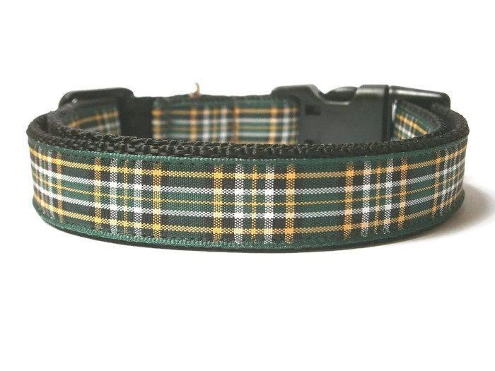 Irish National Tartan Collar - Black