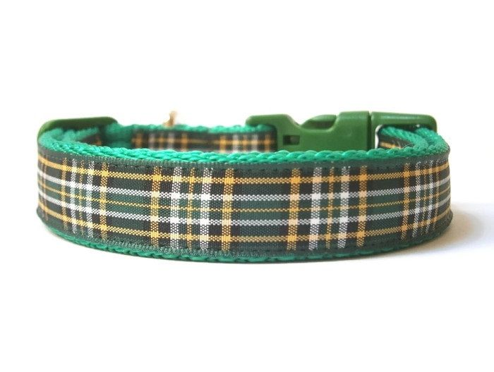 Irish National Tartan Collar - Green