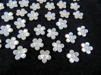 11mm Pearl Flower Embellishments