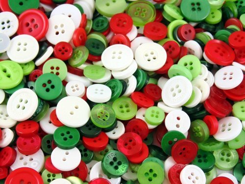 Christmas Small Mixed Buttons