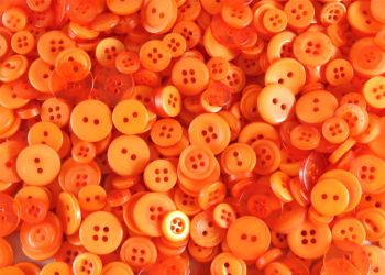 Orange Small Mixed Buttons