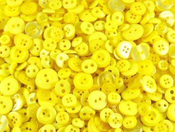 Yellow Small Mixed Buttons
