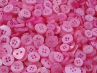 Baby Pink Small Mixed Buttons