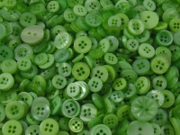 Green Small Mixed Buttons