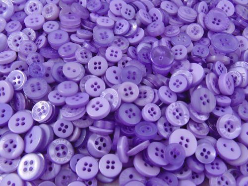 Lilac Small Mixed Buttons