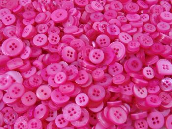 Pink Small Mixed Buttons