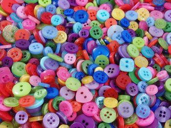 Rainbow Small Mixed Buttons