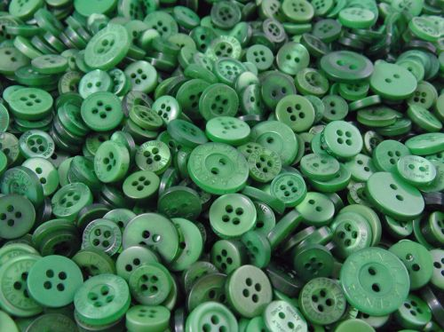 Forest Green Small Mixed Buttons