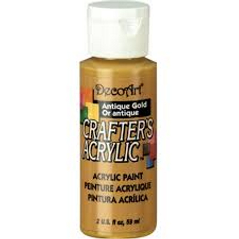 JT554 DecoArt 59 ml Crafter's Acrylic All-Purpose Paint ...