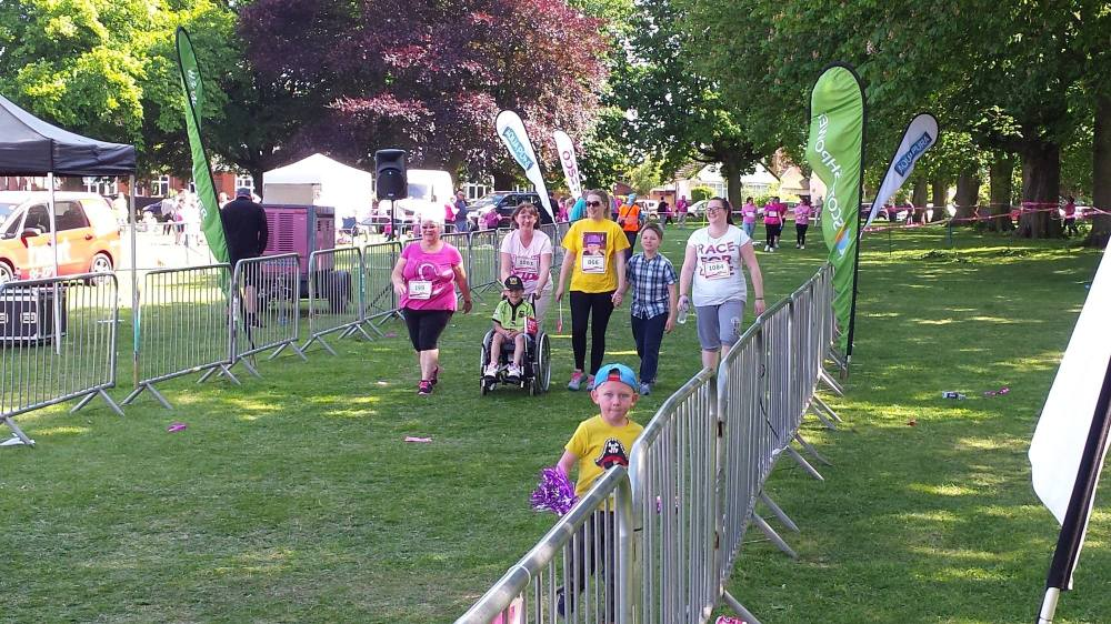 Race for Life 2015 Blog