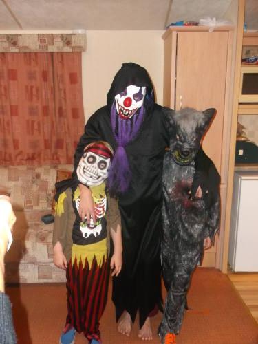 Boys Halloween 2013