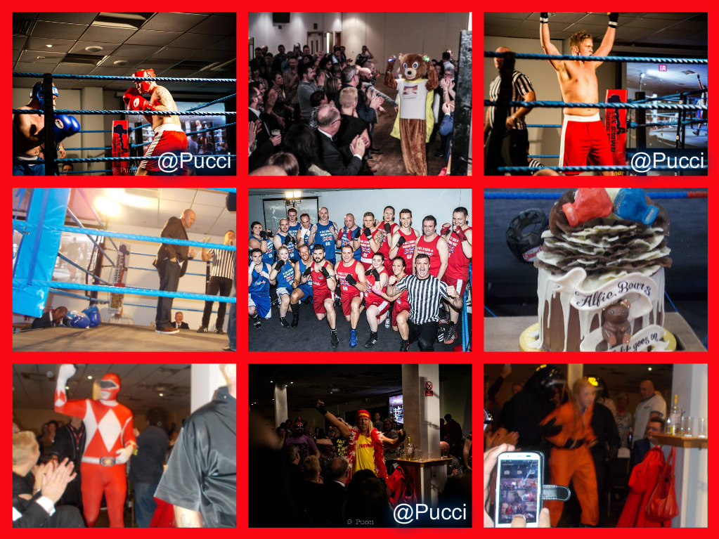 Boxing Collage