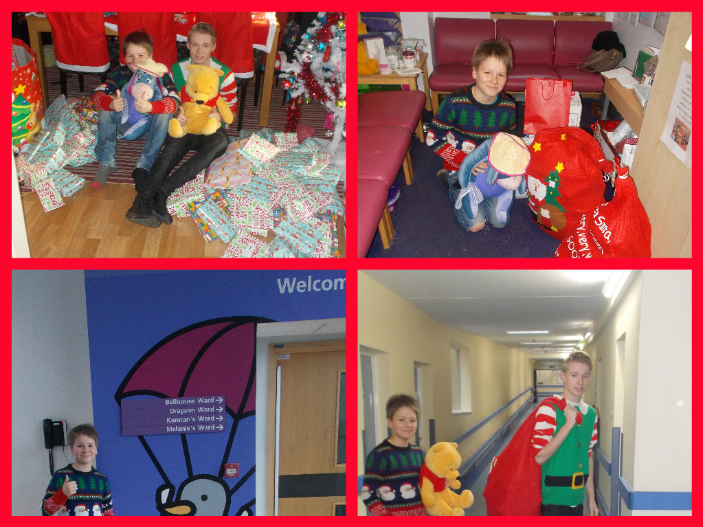 Childrens Ward Collage