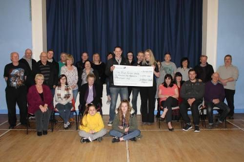 St Albans cheque presentation