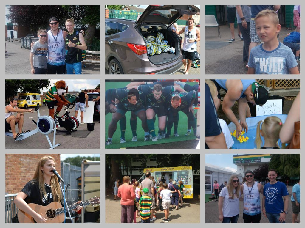 saints summer fair collage
