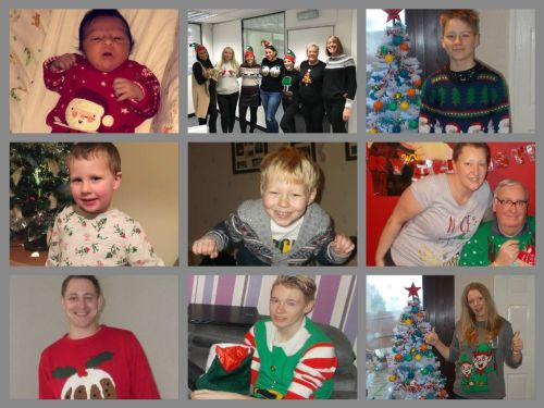 xmas jumpers collage 2016