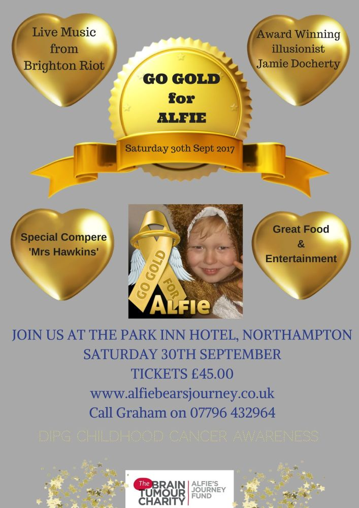 GO GOLD for ALFIE