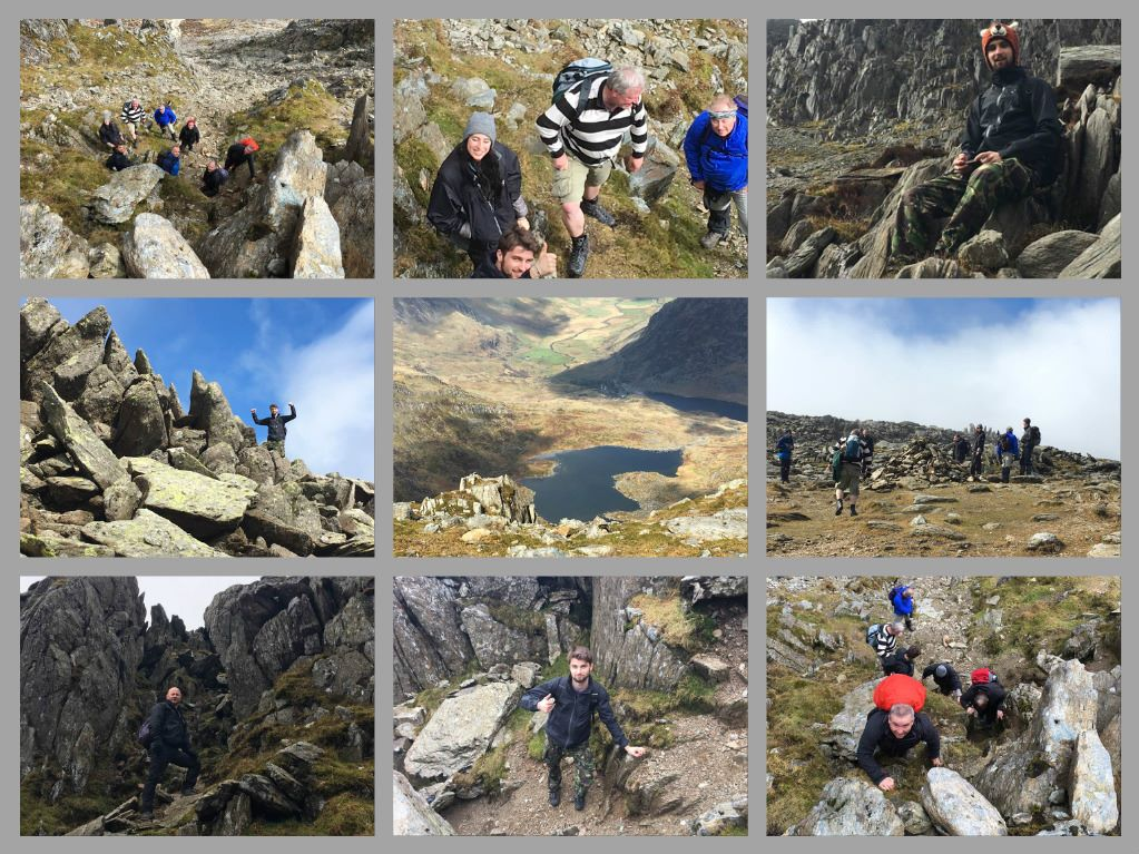 Snowdon Day 1 Web Collage