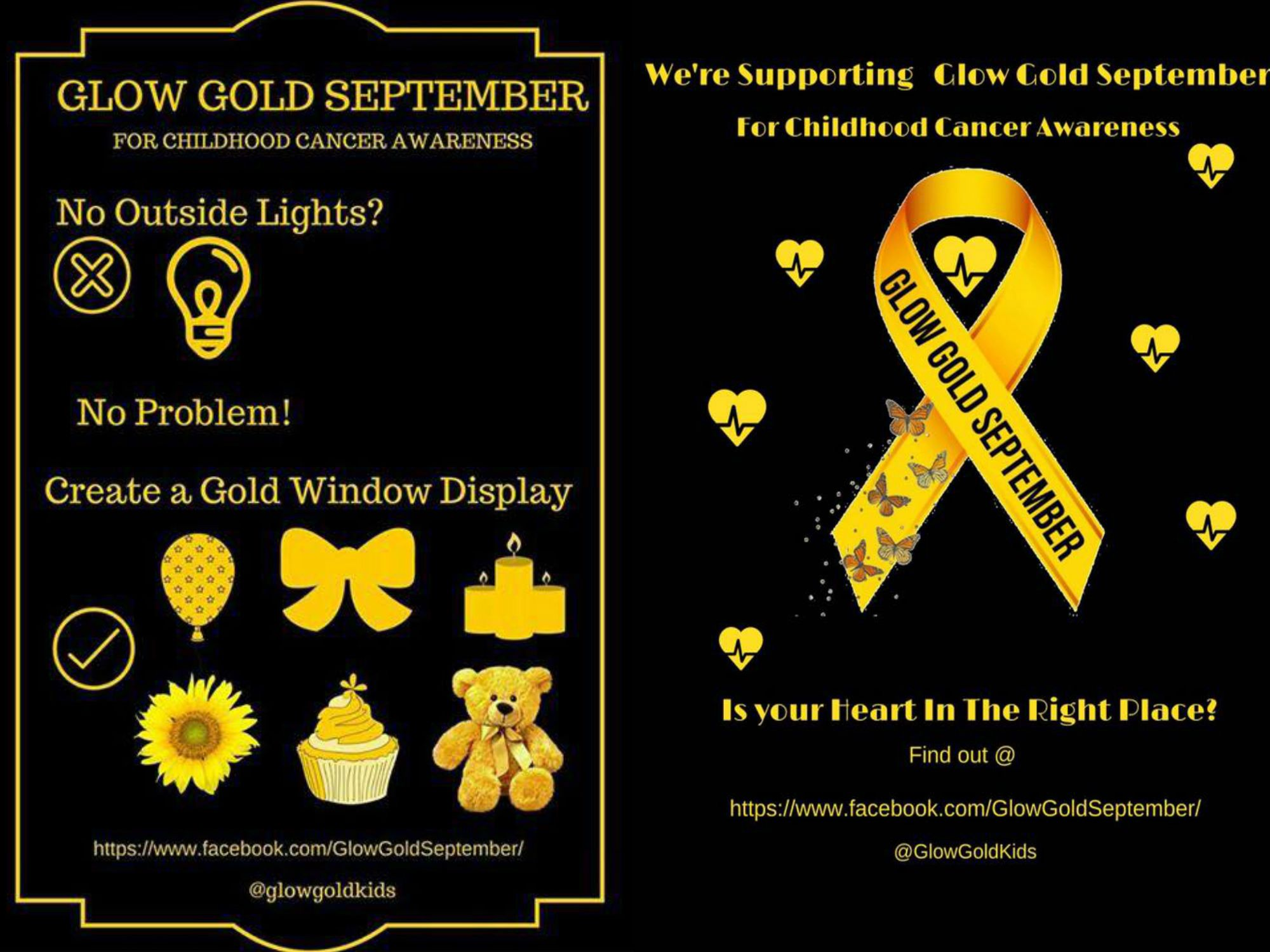 Glow Gold September Campaign