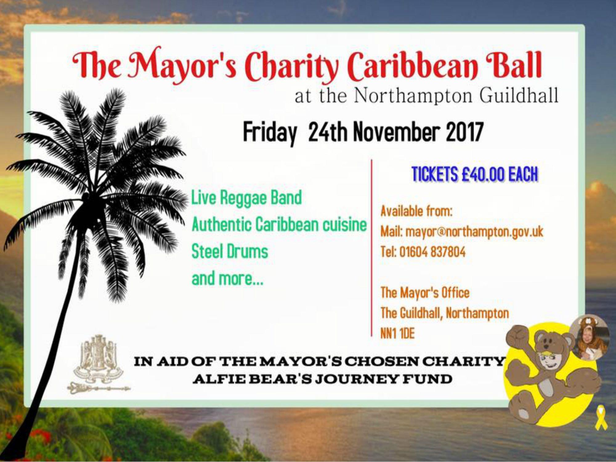 Mayor's Charity Caribbean Ball 2017