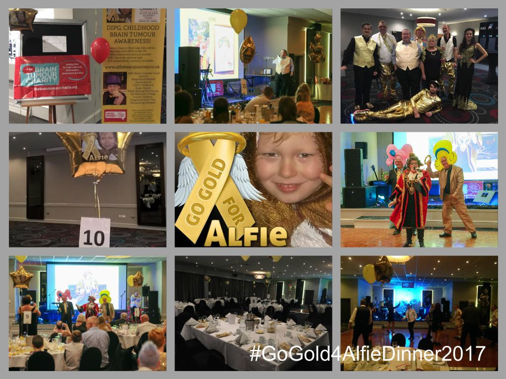 dinner collage 2 gold