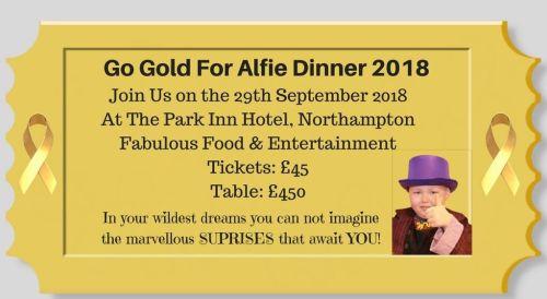 Go Gold 4 Alfie Poster 2018