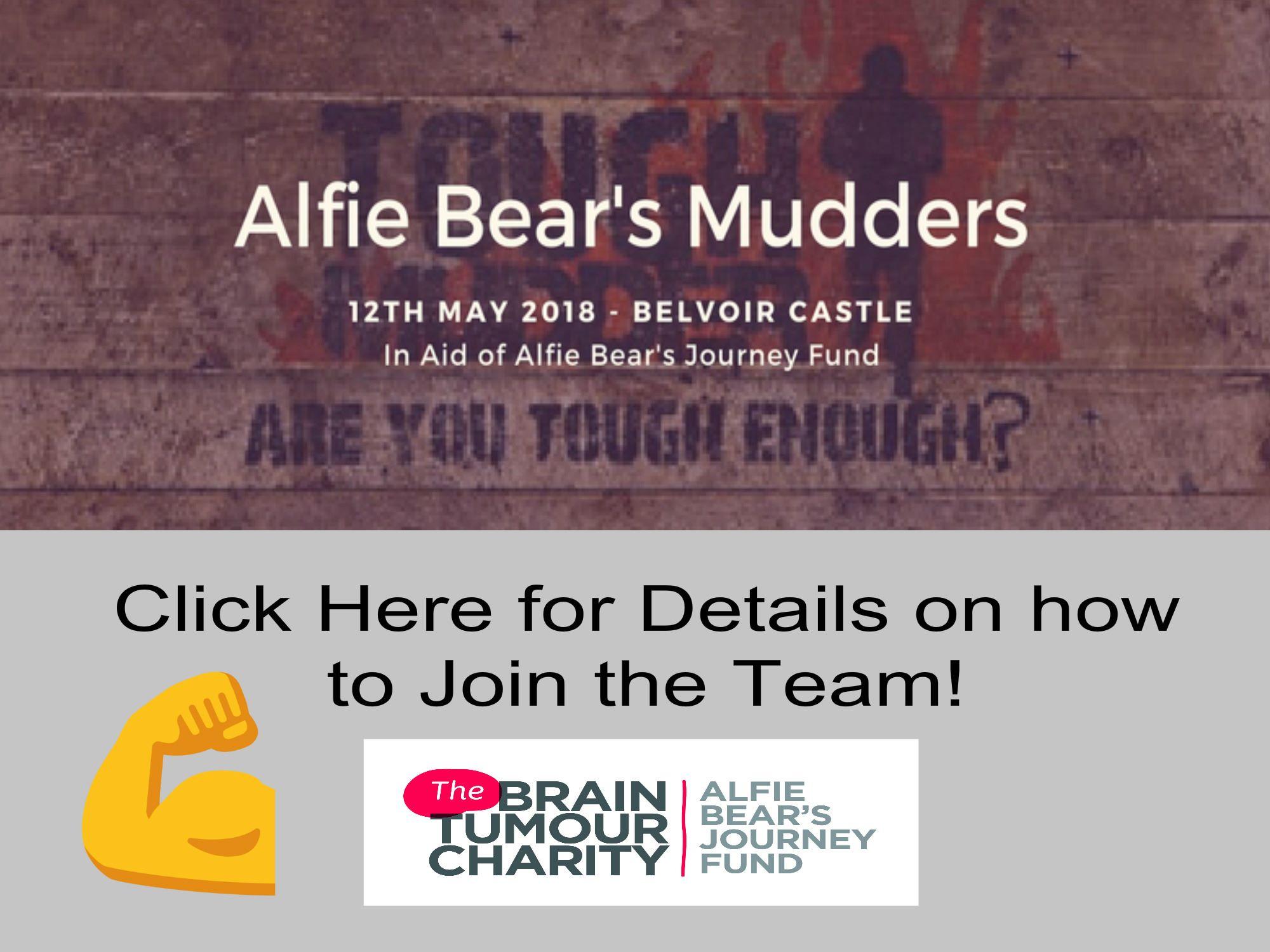 Alfie Bear's Mudders Challenge
