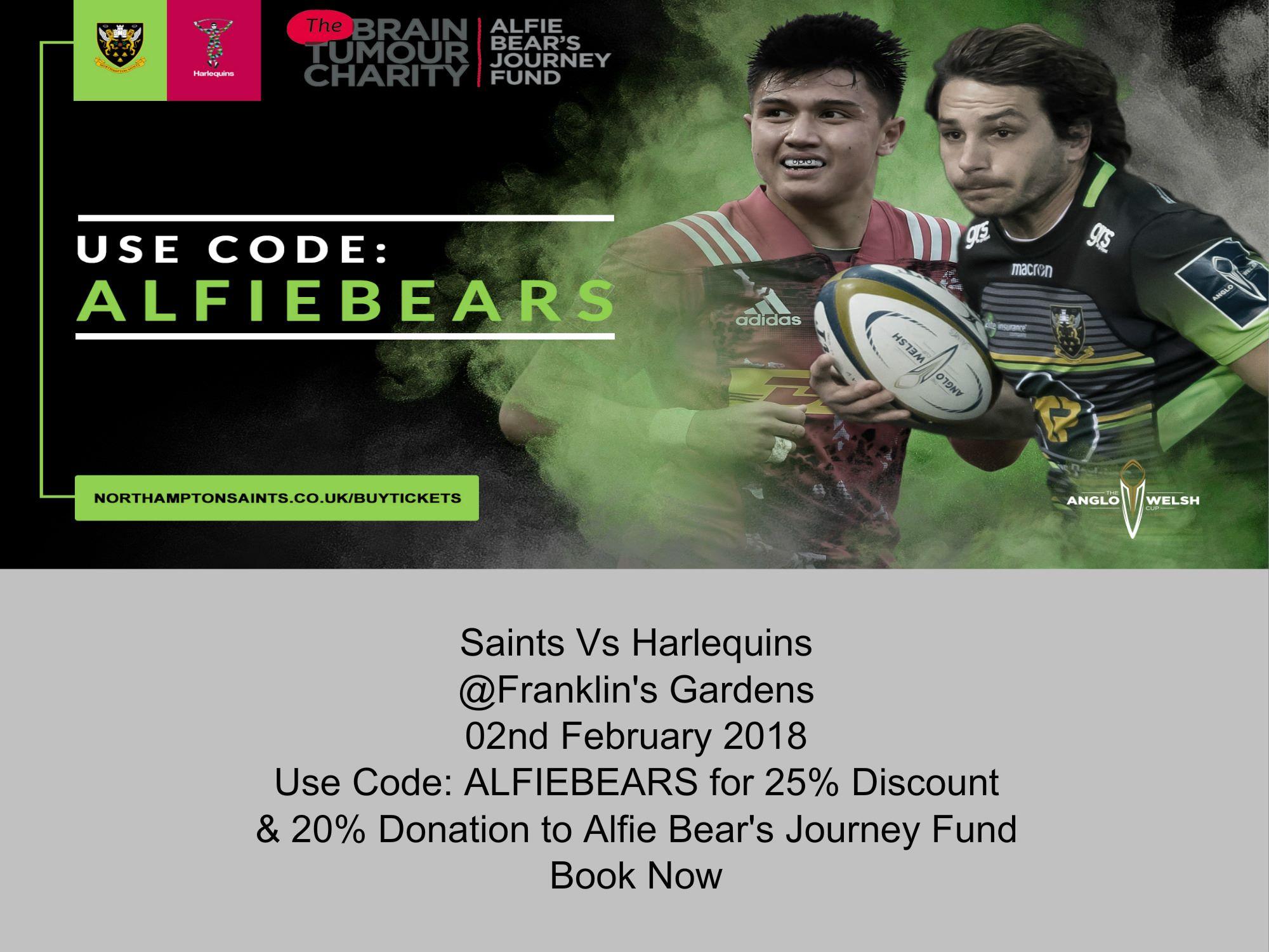 Saints Vs Harlequins Discount Code