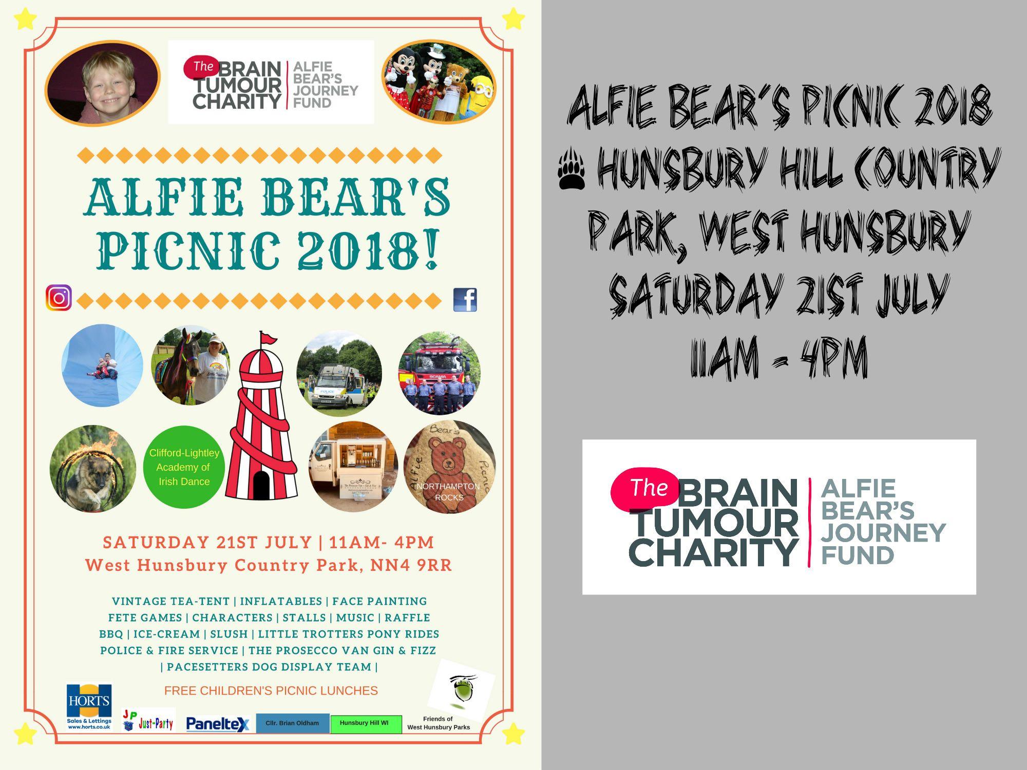 Alfie Bear's Picnic 2018