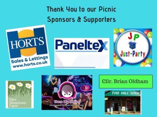 Picnic Sponsors