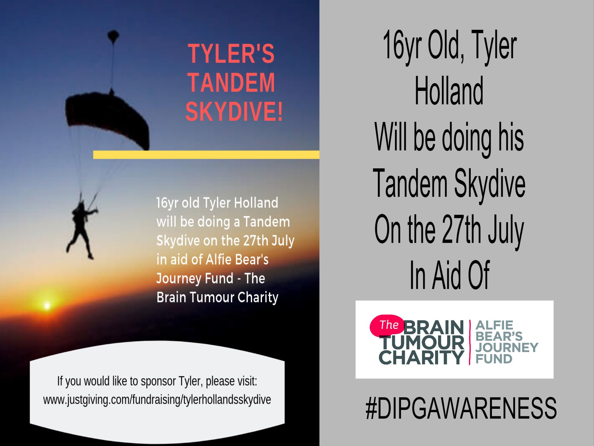 Tyler Hollands Skydive 2019