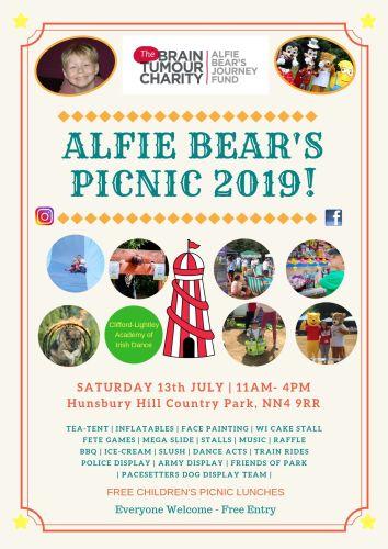 Alfies Picnic Poster 2019