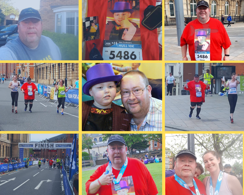 Grahams Hull10k Collage