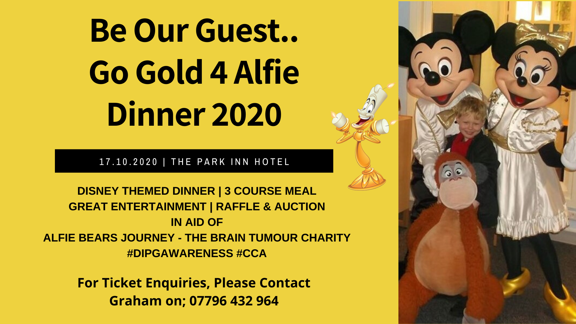 Go Gold for Alfie Dinner 2020