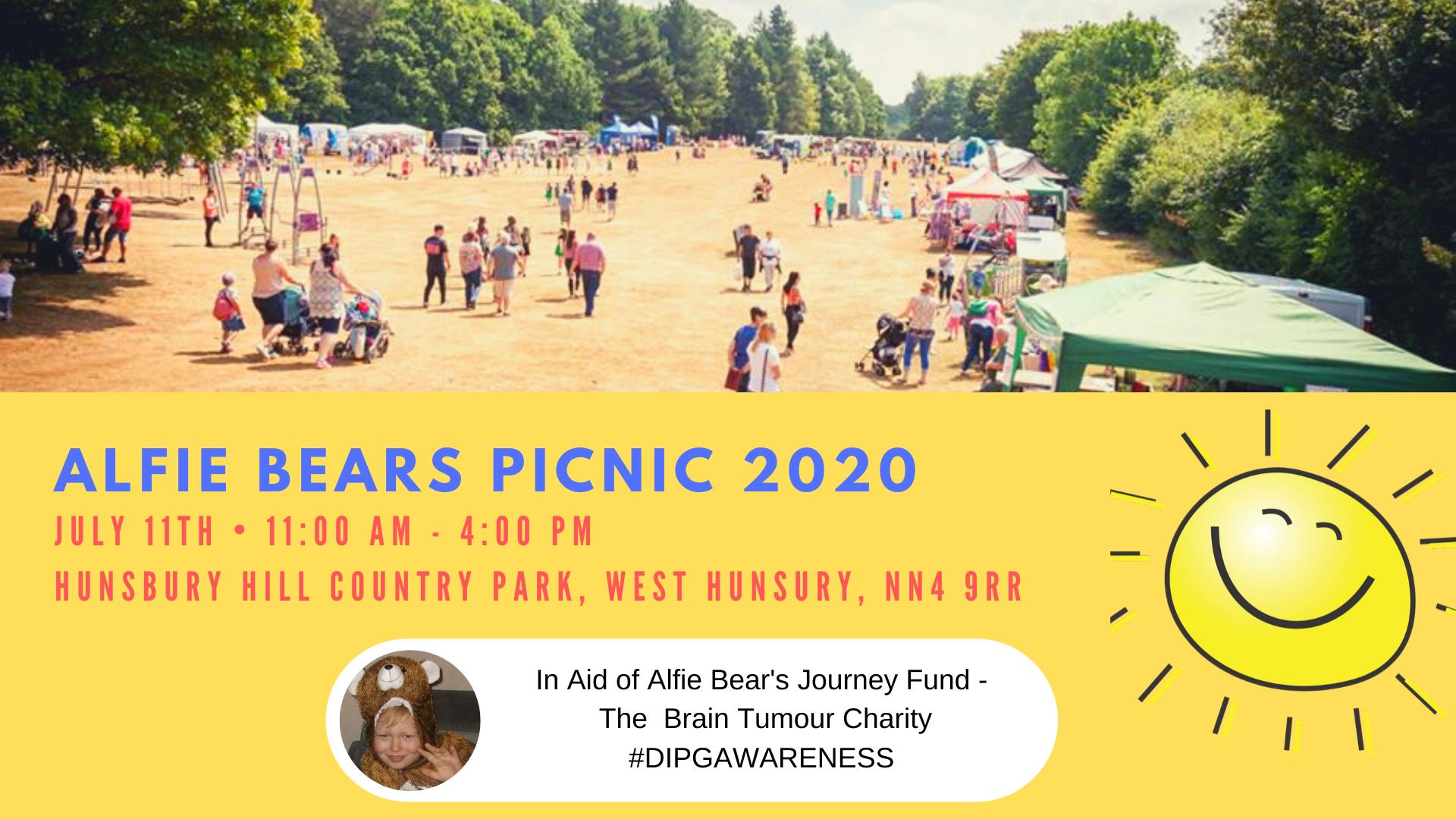 Alfie Bears Picnic 2020