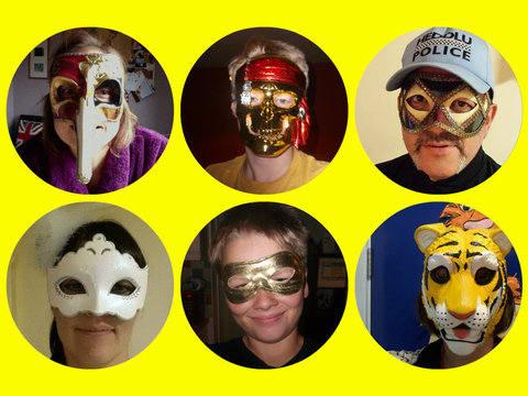 Mask Selfies
