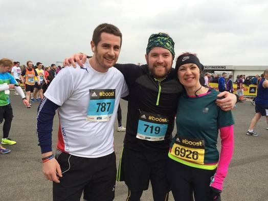 Craig, Carl & Abby Marathon