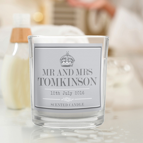 Royal Crown Scented Jar Candle