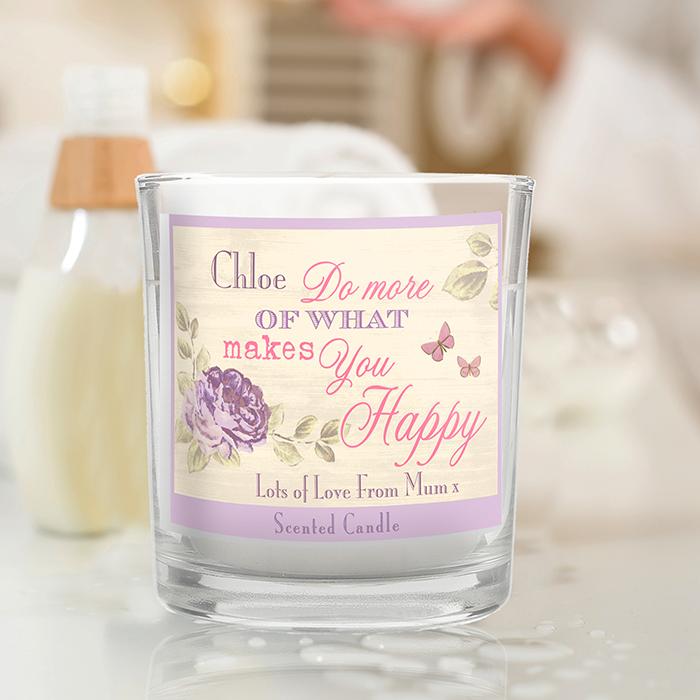 Secret Garden Scented Jar Candle