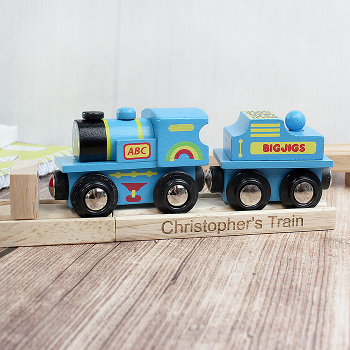 Blue ABC Engine and Track