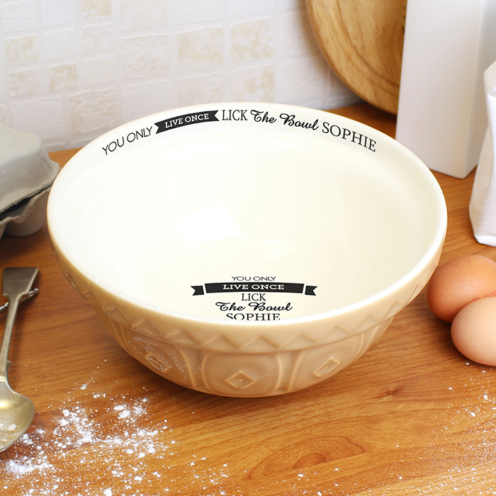You Only Live Once... Baking Bowl