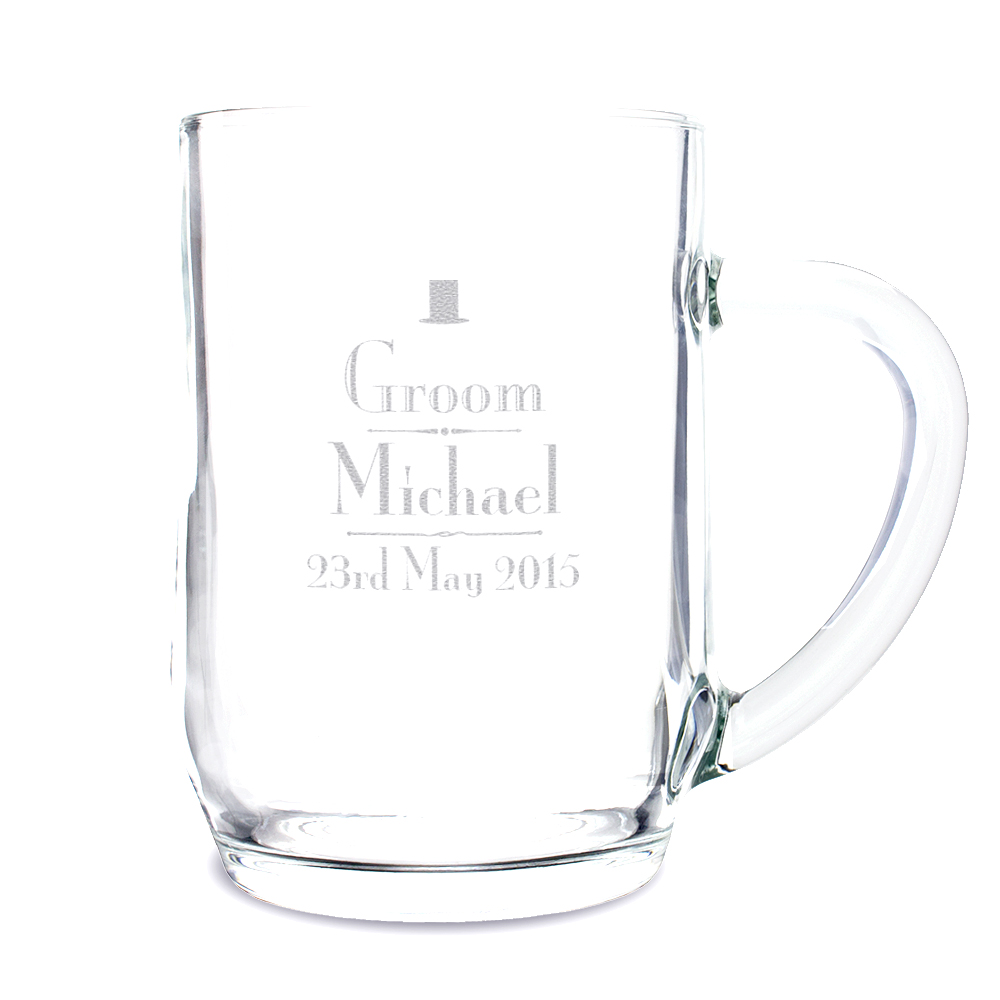Decorative Wedding Groom Tankard