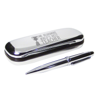 Teacher Trophy Pen and Box Se